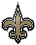 New Orleans Saints Auto Emblem