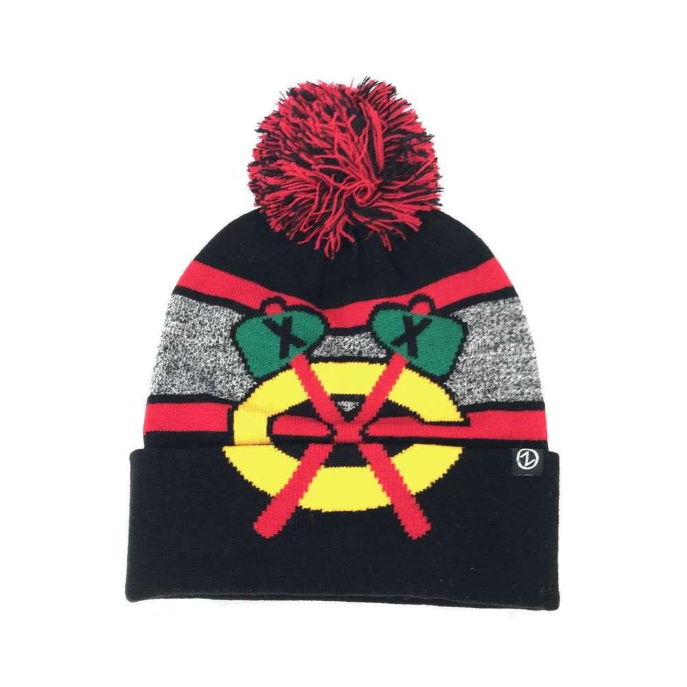 Weitere Wintersportarten Eishockey Chicago Blackhawks Mammoth Bobble Knit