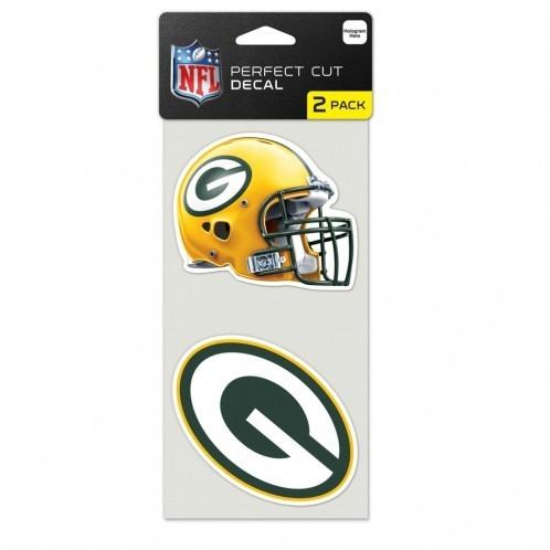 Green Bay Packers Cut Decal 2er Pack