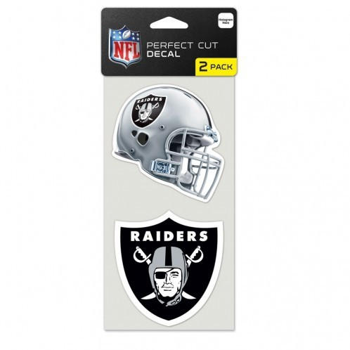Oakland Raiders Cut Decal 2er Pack