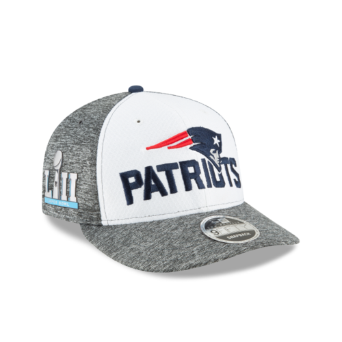 New England Patriots Super Bowl LII New Era 9Fifty Low Profile