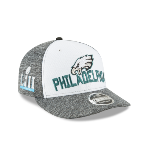 Philadelphia Eagles Super Bowl LII New Era 9Fifty Low Profile