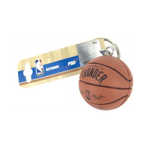 Oklahoma City Thunder Basketball Keychain