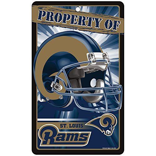Los Angeles Rams Prop Of Sign