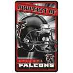 Atlanta Falcons Prop Of Sign