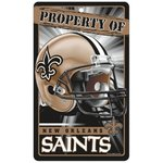 New Orleans Saints Prop Of Sign