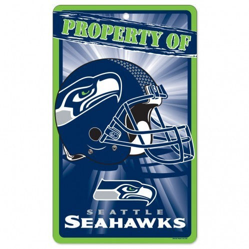 Seattle Seahawks Prop Of Sign