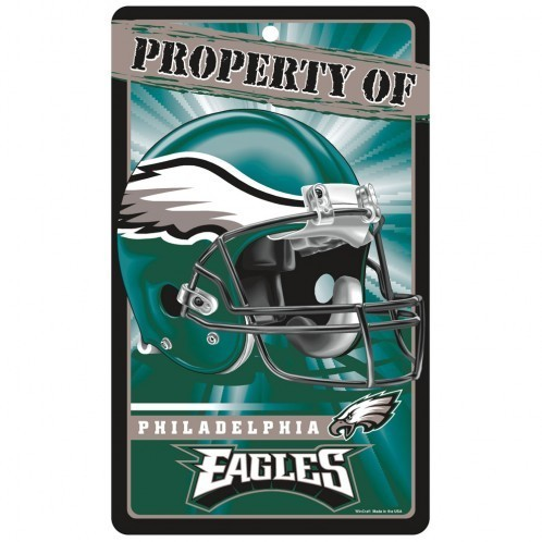 Philadelphia Eagles Prop Of Sign
