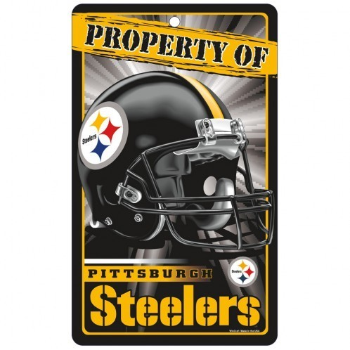 Pittsburgh Steelers Prop Of Sign