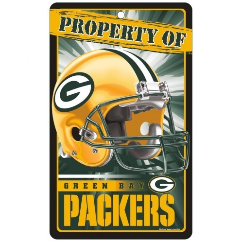 Green Bay Packers Prop Of Sign