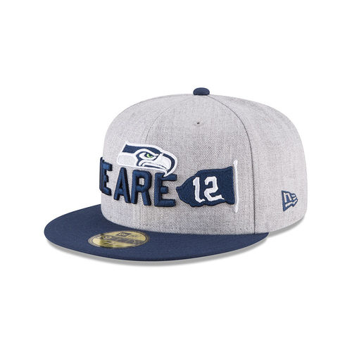 Seattle Seahawks Draft 2018 New Era 59Fifty