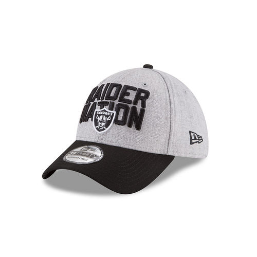 Oakland Raiders Draft 2018 New Era 39Thirty