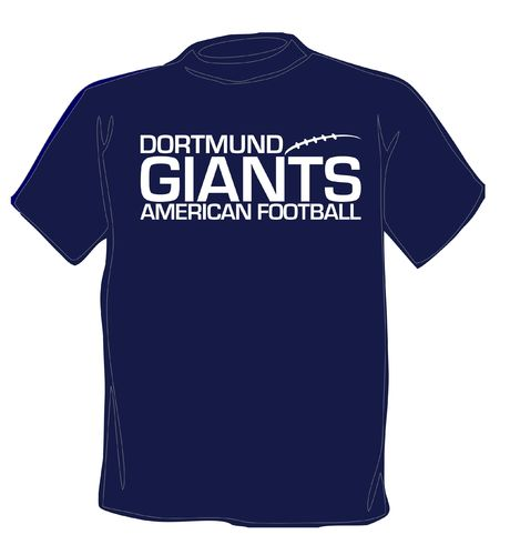 Dortmund Giants Script T-Shirt navy