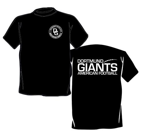 Dortmund Giants Basic Logo T-Shirt schwarz