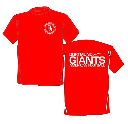 Dortmund Giants Basic Logo T-Shirt rot