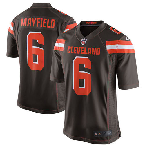 Cleveland Browns Baker Mayfield Nike Replika Jersey