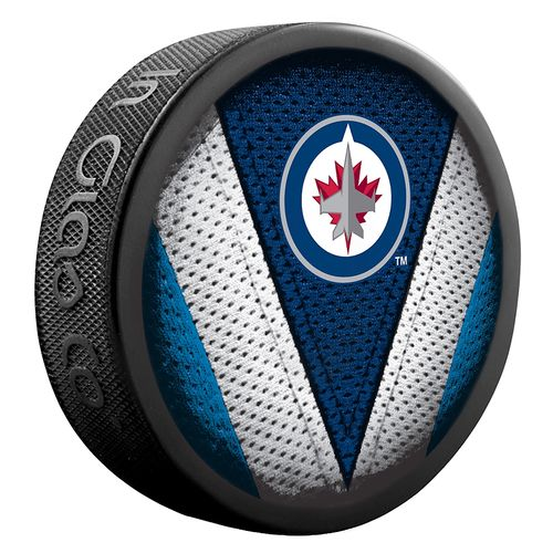 Winnipeg Jets Shadow / Stitch Puck