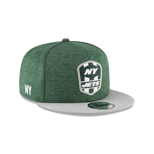 New York Jets NFL Sideline 2018 road New Era 9Fifty