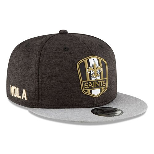 New Orleans Saints NFL Sideline 2018 road New Era 9Fifty