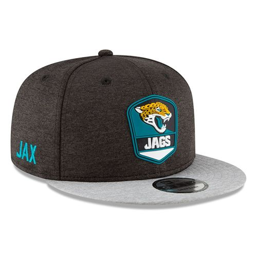 Jacksonville Jaguars NFL Sideline 2018 road New Era 9Fifty