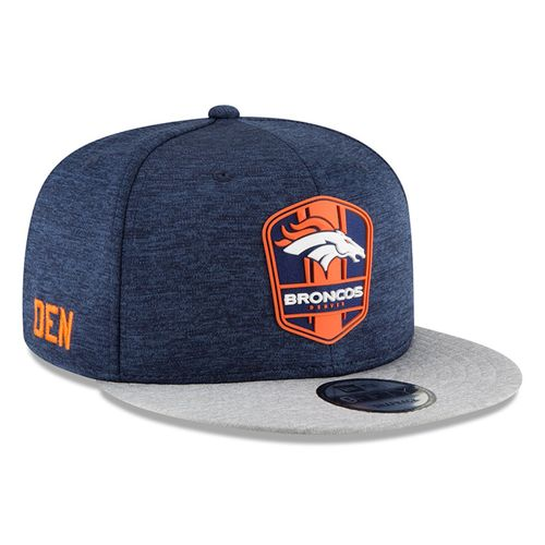 Denver Broncos NFL Sideline 2018 road New Era 9Fifty