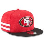 San Francisco 49ers NFL Sideline 2018 home New Era 9Fifty