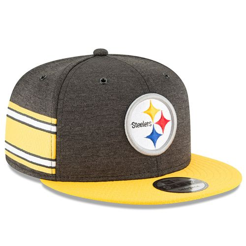 Pittsburgh Steelers NFL Sideline 2018 home New Era 9Fifty
