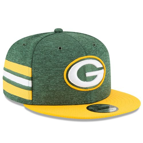 Green Bay Packers NFL Sideline 2018 home New Era 9Fifty
