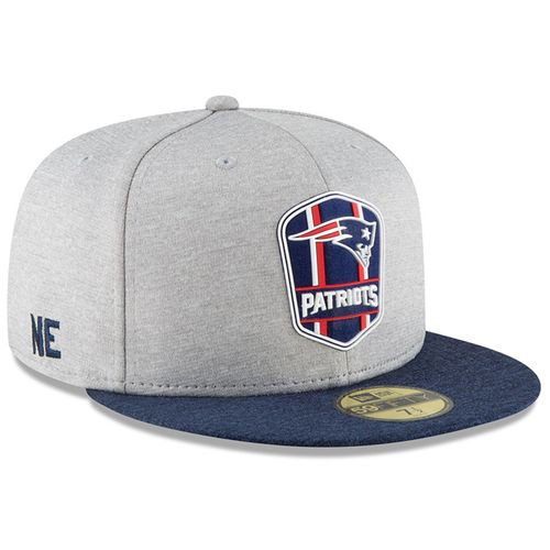 New England Patriots NFL Sideline 2018 road New Era 59Fifty