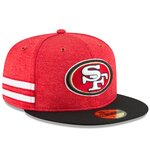 San Francisco 49ers NFL Sideline 2018 home New Era 59Fifty