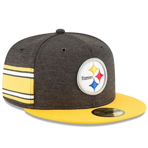 Pittsburgh Steelers NFL Sideline 2018 home New Era 59Fifty