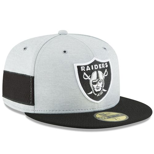 Oakland Raiders NFL Sideline 2018 home New Era 59Fifty