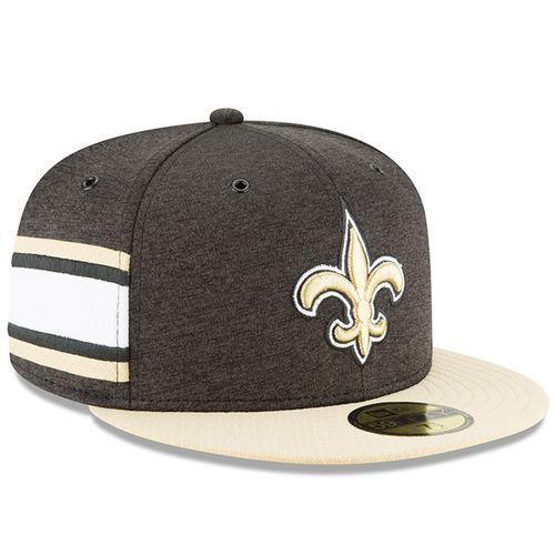 New Orleans Saints NFL Sideline 2018 home New Era 59Fifty