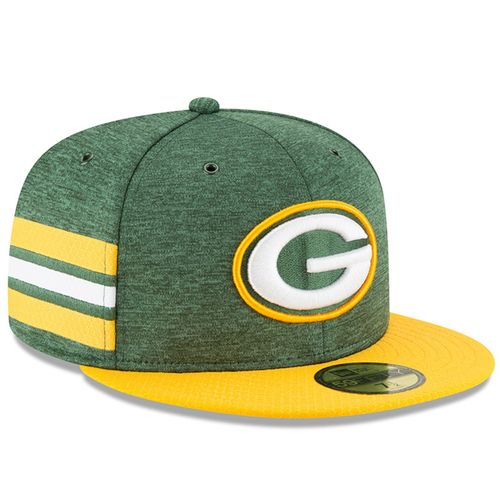 Green Bay Packers NFL Sideline 2018 home New Era 59Fifty