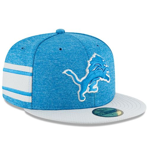 Detroit Lions NFL Sideline 2018 home New Era 59Fifty