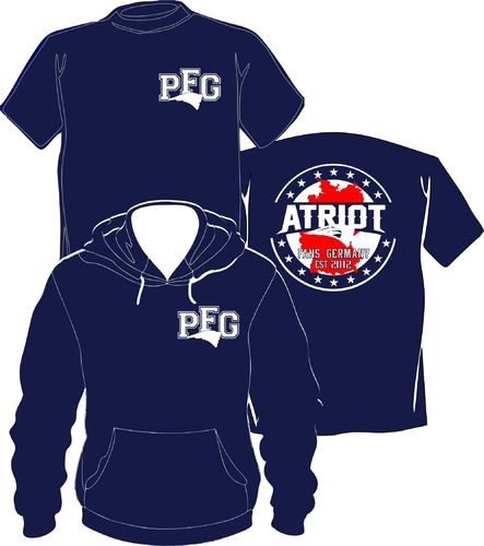 PFG Set T-Shirt + Hoody College Style