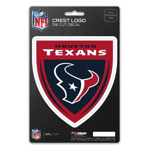 Houston Texans Shield Decal