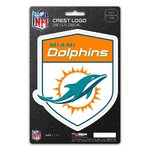 Miami Dolphins Shield Decal