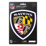 Baltimore Ravens Shield Decal