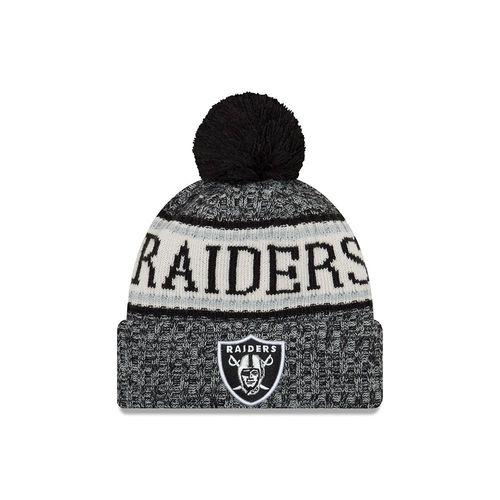 Oakland Raiders NFL On Field 2018 New Era Knit