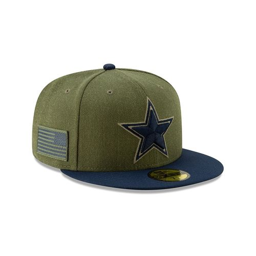 Dallas Cowboys Salute To Service 2018 New Era 59fifty