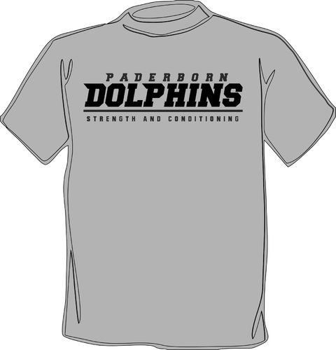 Paderborn Dolphins Team Gym T-Shirt 2019