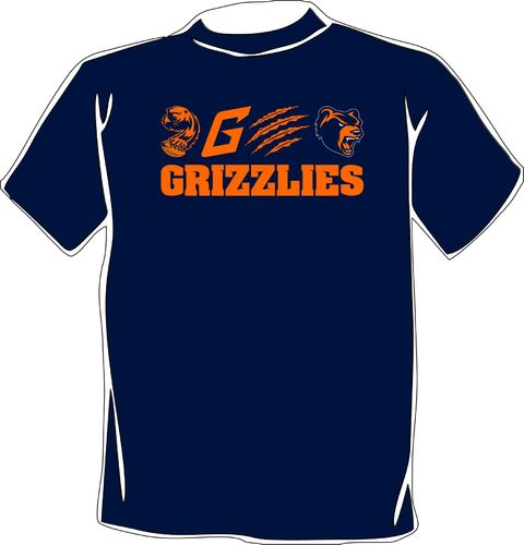 "Hannover Grizzlies T-Shirt ""10 years"""