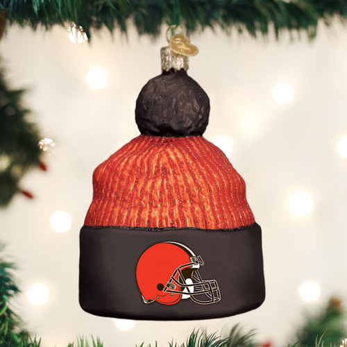Cleveland Browns Christbaum Ornament Beanie