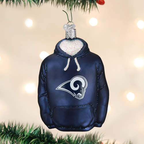Los Angeles Rams Christbaum Ornament Hoodie