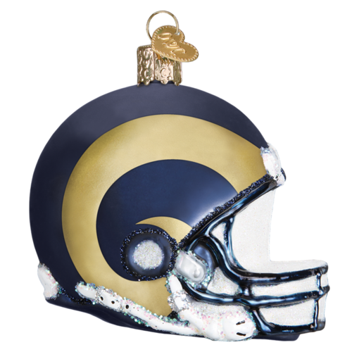 Los Angeles Rams Christbaum Ornament Helm