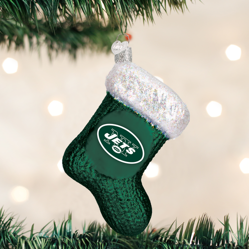 New York Jets Christbaum Ornament Socke