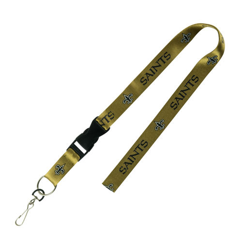 New Orleans Saints PSG Lanyard (gold)