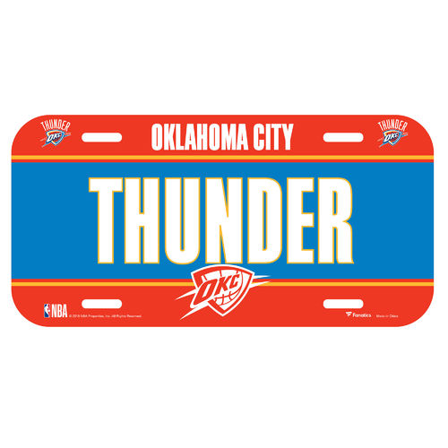 Oklahoma City Thunder NBA Schild