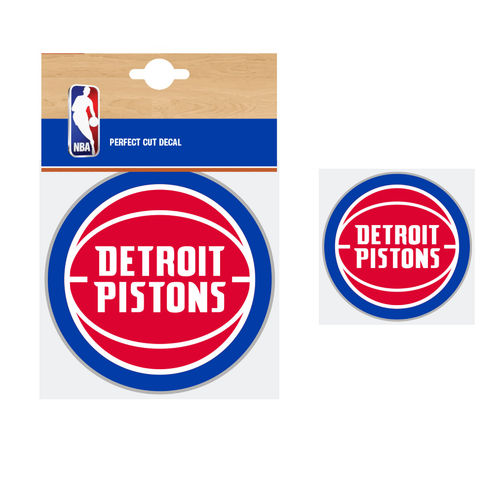 Detroit Pistons NBA Car Sticker